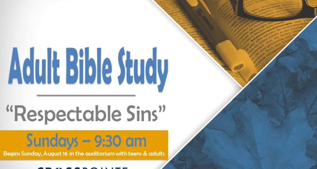 Sunday School & Adult Bible Study